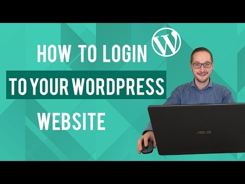 How to login to your Wordpress website Tutorial thumbnail