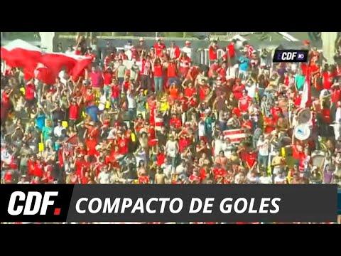 U. La Calera 6 - 1 U. de Chile   Torneo Scotiabank 2018 Décima Fecha   CDF