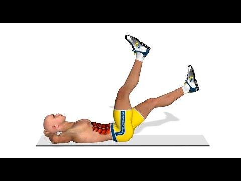 elevaciones de piernas que musculos trabaja