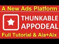 Thunkable Appodeal Full Tutorial: How to