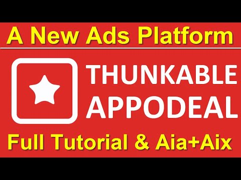 Thunkable Appodeal Full Tutorial: How To Integrate Appodeal Into Thunkable / Appodeal In AppyBuilder