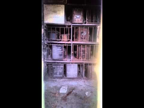 BROMPTON CEMETERY CATACOMBS (2ND VIDEO)
