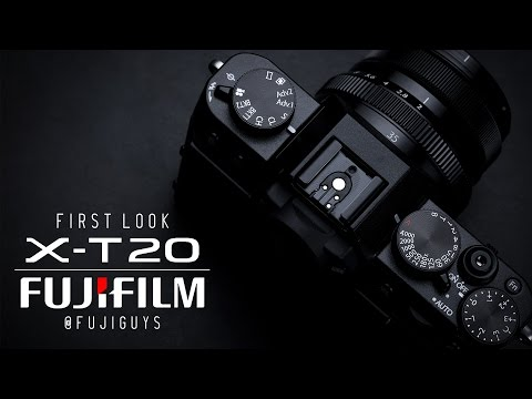 Fuji Guys - FUJIFILM X-T20 Camera - First Look