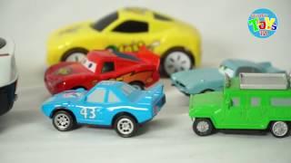 Police Car Truck Car Auto poli  Help Disbey Cars Playset Run Track with Cars Fast as Flightning