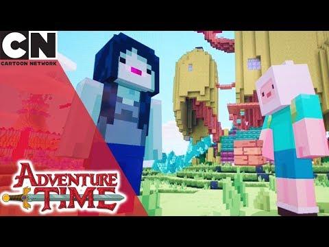 Minecraft & Adventure Time Crossover Episode | Cartoon Network