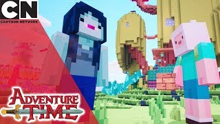Minecraft & Adventure Time Crossover Episode | Cartoon Network