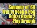 Summer of '69 - Trinity Rock & Pop Guitar Grade 2 2018 playthrough demo