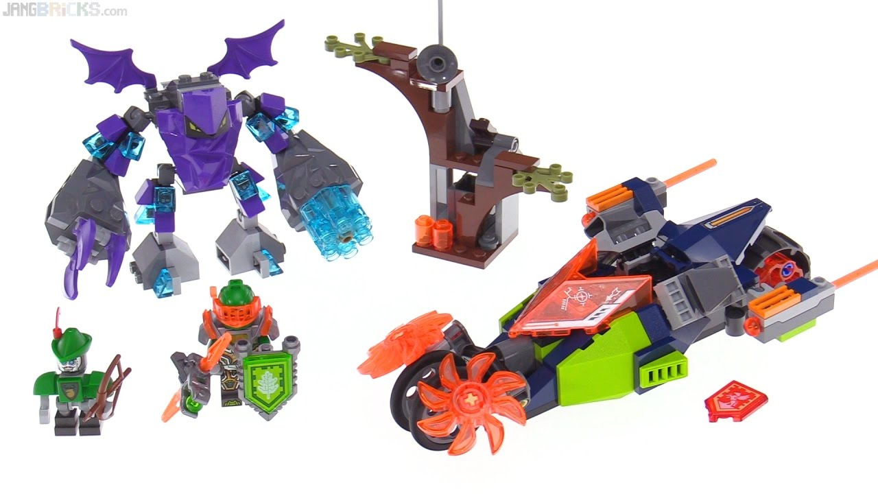 lego nexo knights aaron s destroyer review 70358