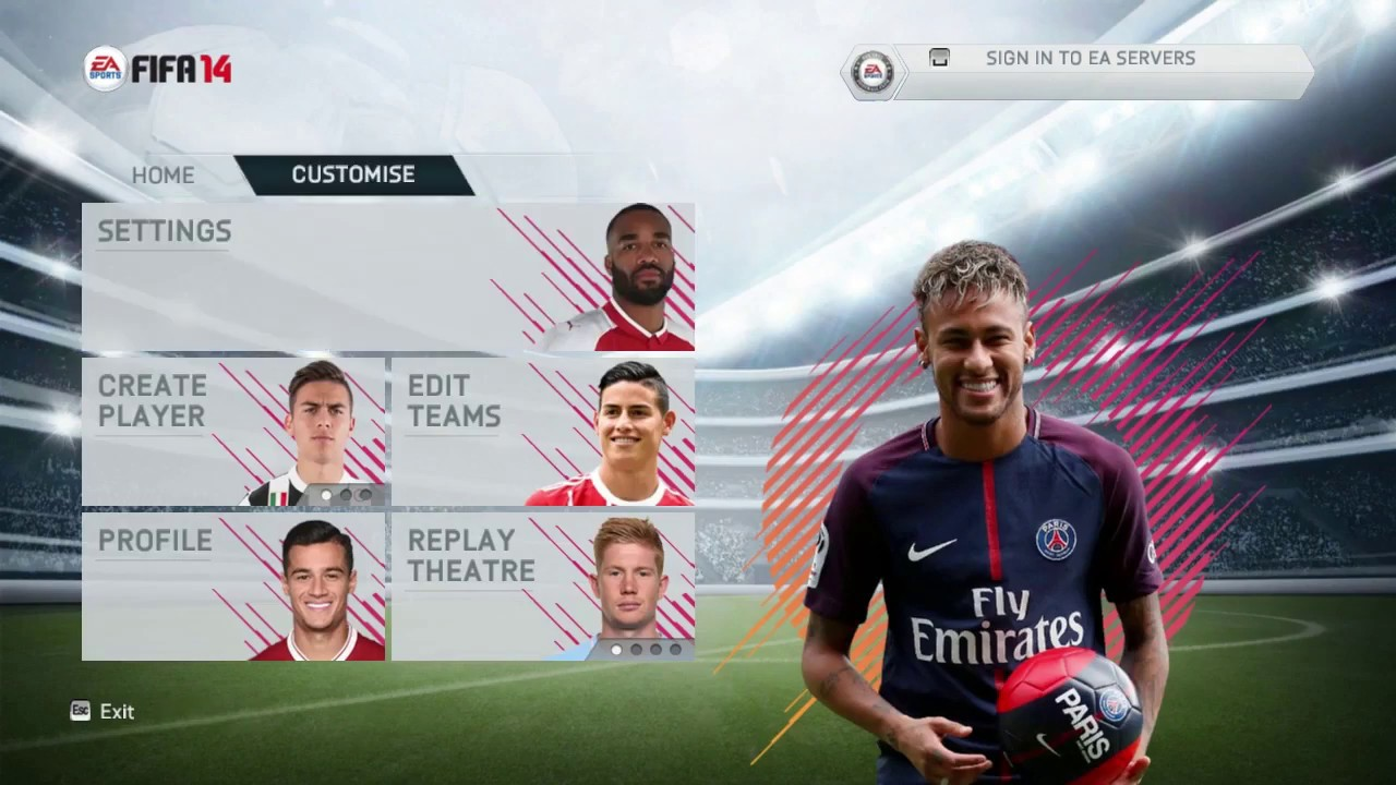 Fifa 18 mod for fifa 14 (review and download links) youtube.