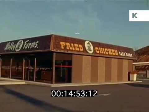 1960s Usa Fried Chicken Shop Fast Food Kinolibrary Youtube