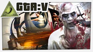 GTA 5 Funny Moments - Chopper Army (Zombies)