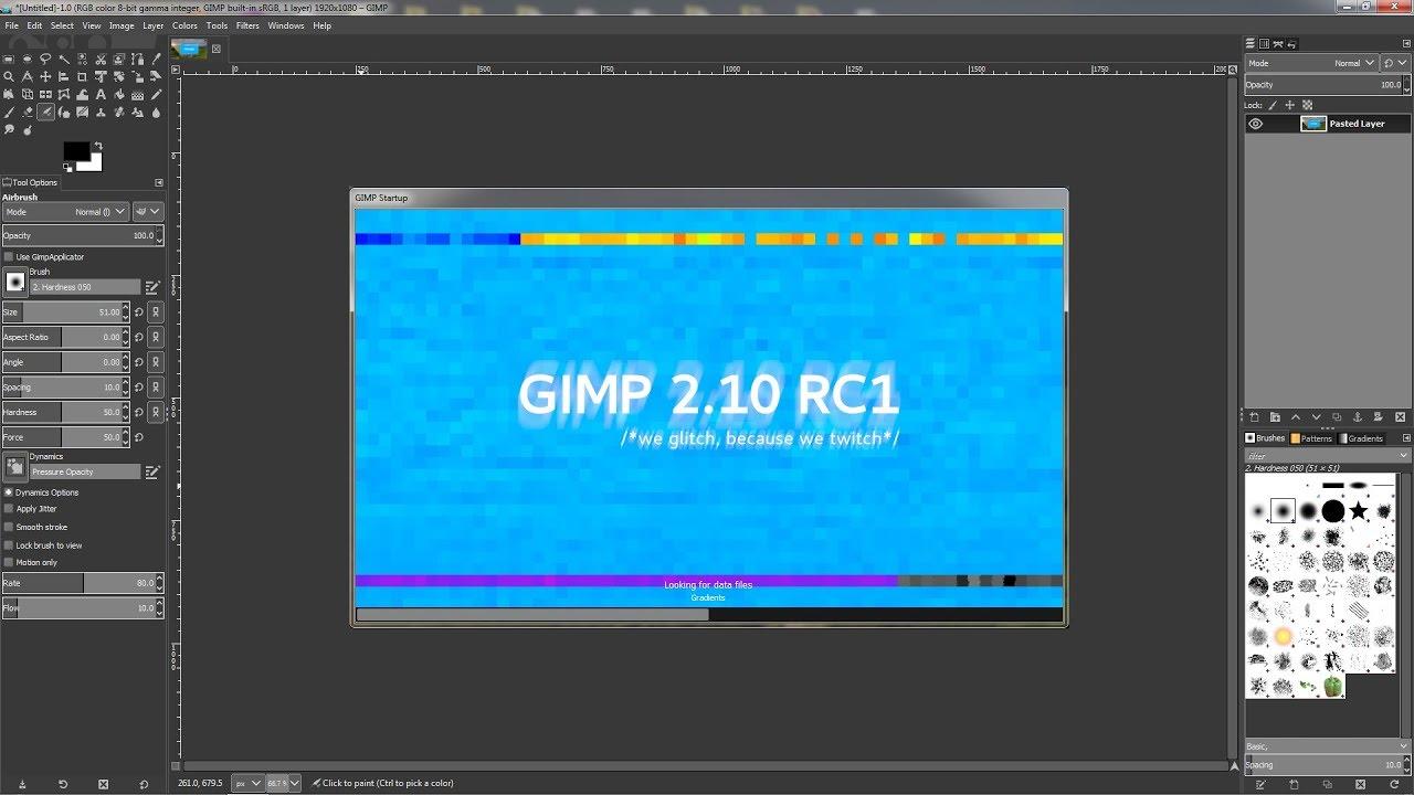 photo editing gimp windows 10