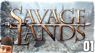 "Savage Lands Gameplay Ep 01 - ""Dude, is that a...DRAGON???"" 1080p PC Alpha"