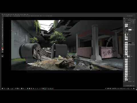 Maciej Kuciara creates video game fan art live - August 25, 2016.
