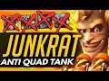 Overwatch | JUNKRAT The Quad Tank COUNTER + Crazy Anti-Tank Comp!