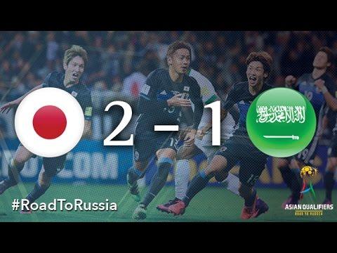 Japan vs Saudi Arabia (Asian Qualifiers – Road To Russia)