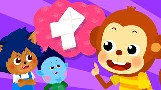 몬스터 유치원 #9 | 에밀리와 보미가 싸웠어요 2 | 몬스터 친구들의 화해 대작전! | 유아 인성동화★지니키즈