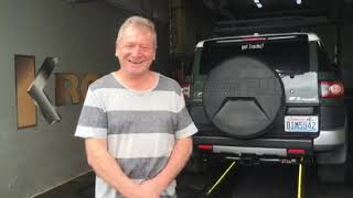 Отзыв владельца Toyota FJ Cruiser из США I Зал славы KROWN