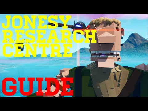 How To Complete Jonesy Research Center By BertBuilds - Fortnite Creative Guide