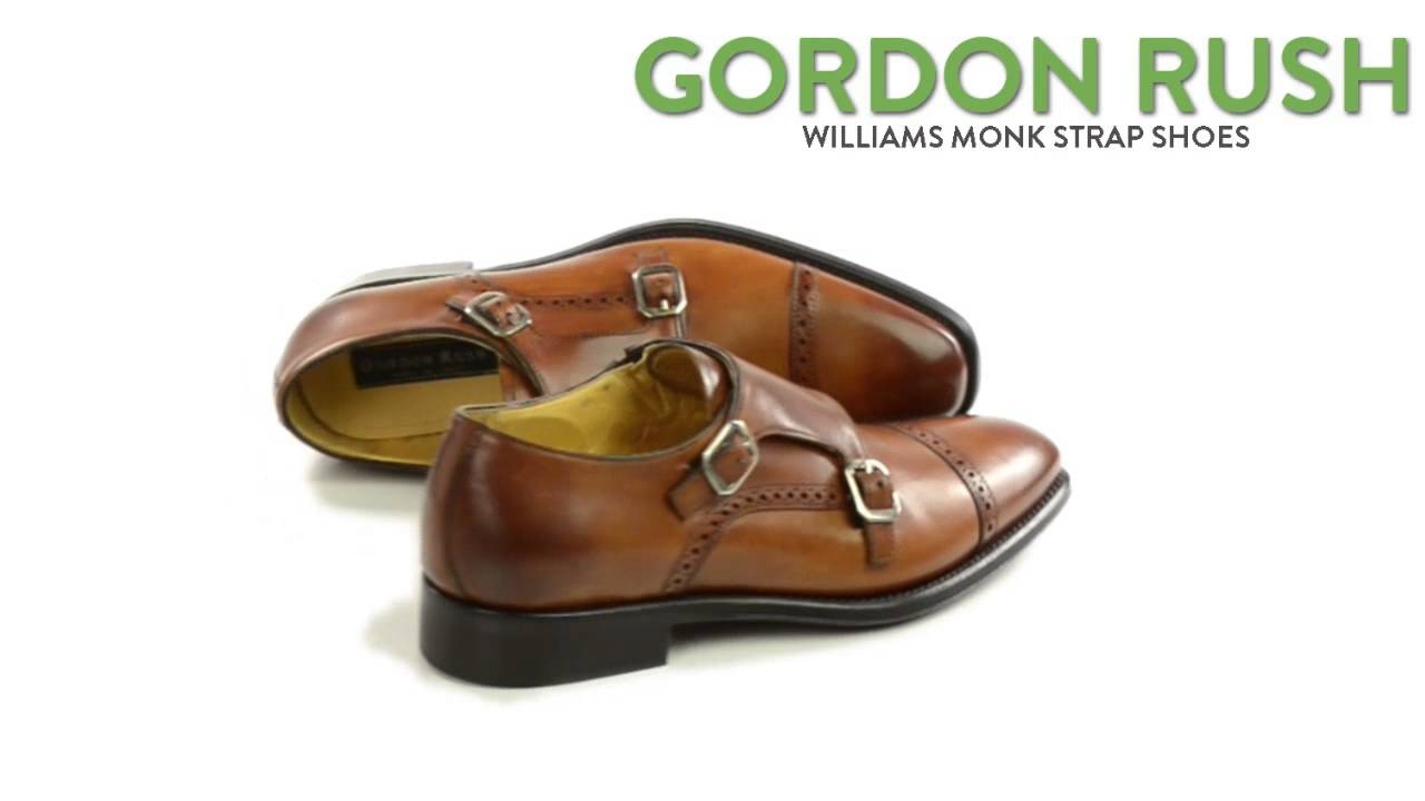 Gordon Rush Williams Leather Shoes - Monk Strap, Slip-Ons (For Men) -  YouTube
