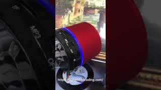 AGT mini size global trading wireless bluetooth speaker