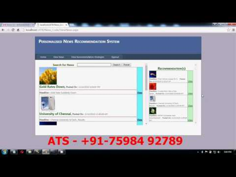 News Recommendation System, The Design and Implementation of Personalized  News Recommendation System