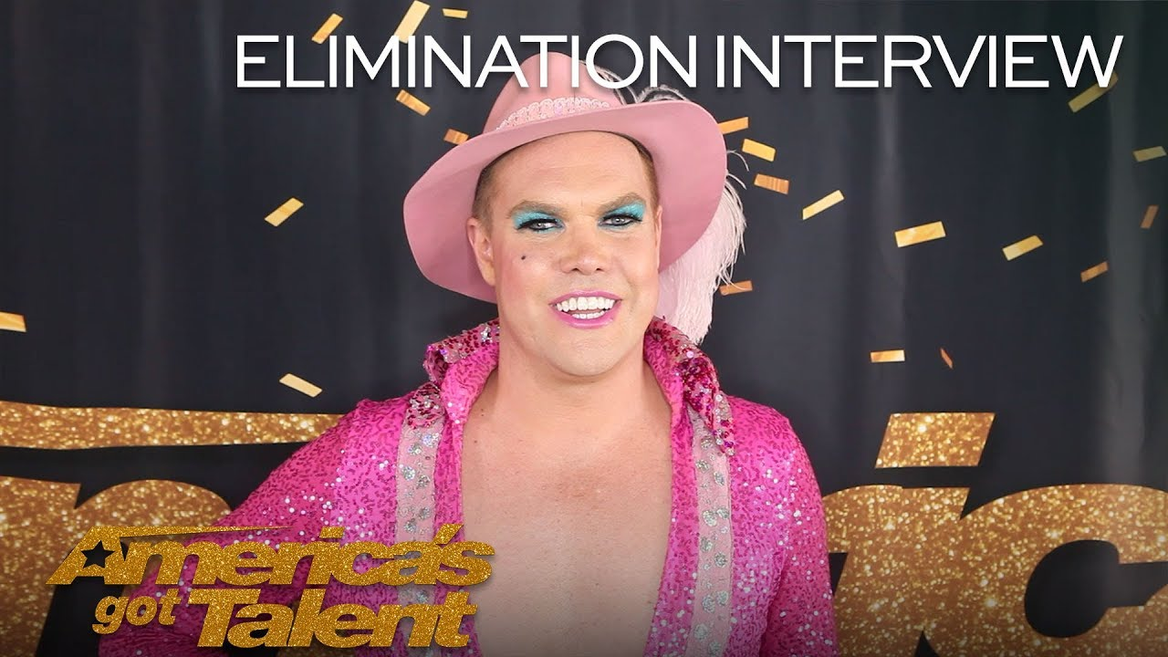 Elimination Interview: Hans Thanks His Fans For Praying For Him - America's Got Talent 2018