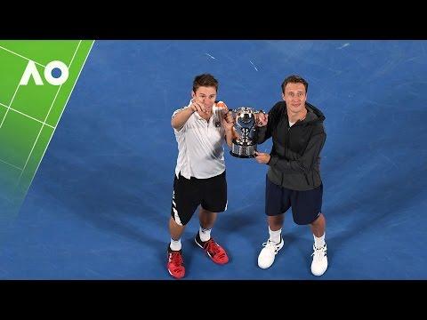Kontinen/Peers trophy presentation (Final) | Australian Open 2017