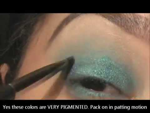 Gorgeous Eyes Using Mary Kay's Mineral Eye Colors