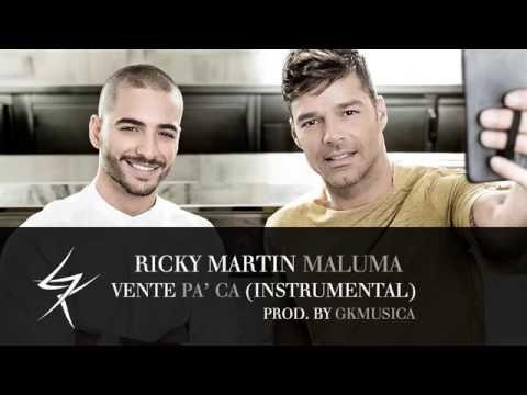 Ricky Martin - VENTE PA' CA Ft. Maluma ( Instrumental / Karaoke ) Prod. By @GKMusica