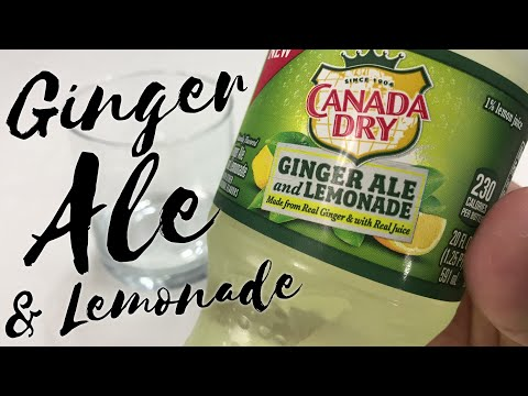 Canada Dry Ginger Ale And Lemonade Review