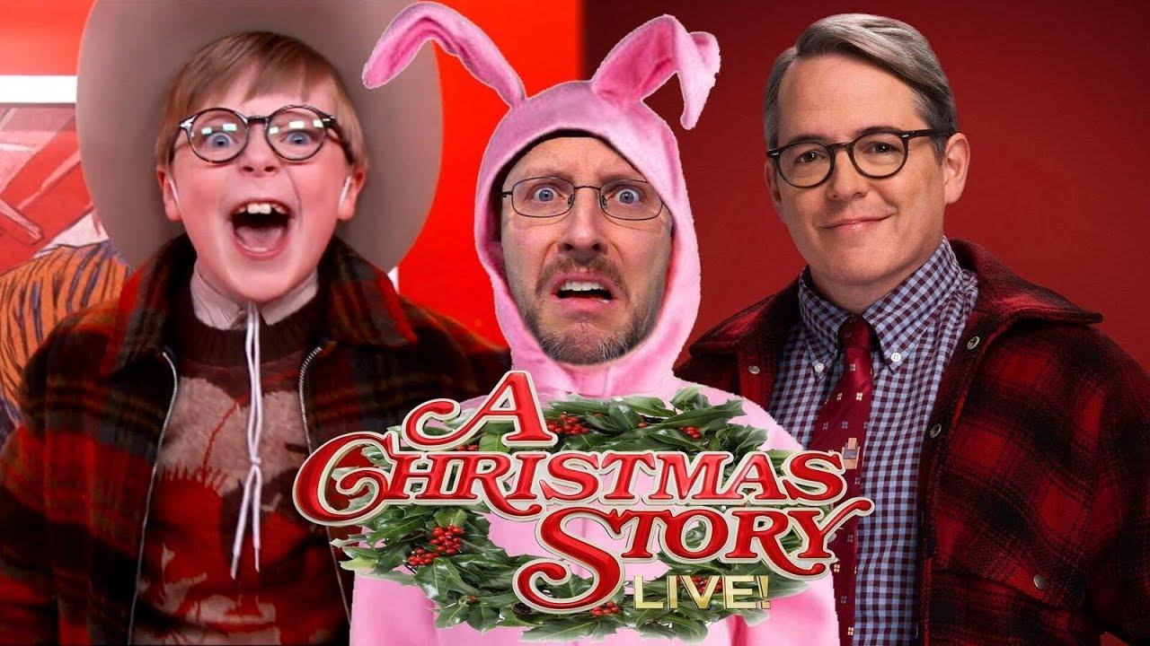 Christmas Story.A Christmas Story Live Nostalgia Critic