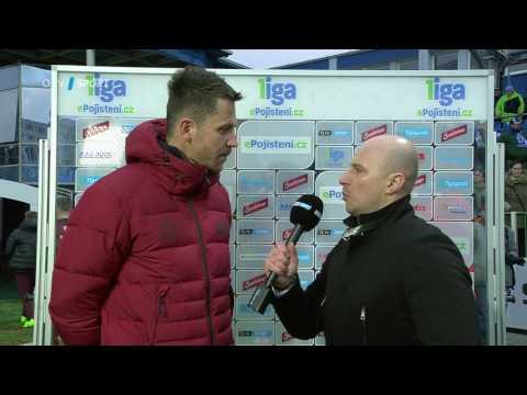 David Holoubek rozhovor (Mladá Boleslav - Sparta 1:0)