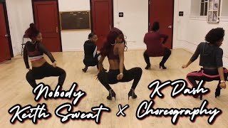 ❤️ Nobody x Keith Sweat | Valentine's Day Dance/Heels Workshop | K'DASH Choreography