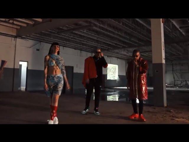 Mienteme Remix [Official Video] - Papi Sousa Ft. Cazzu, Rauw Alejandro, Alvaro Diaz & Lyanno