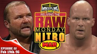 "Raw vs Nitro ""Reliving The War"": Episode 22 - Feb 19th 1996"