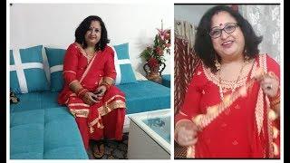 Re-create Your Dupatta At Home | #diy | #karwachauthlook | Dupatta Decoration #fancy