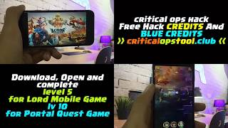 critical ops hack cheats for android ios how to hack critical ops free credits blue credits