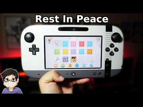 Remembering The Nintendo Wii U - RIP Wii U