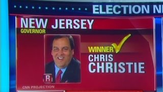 Christie wins New Jersey Governor