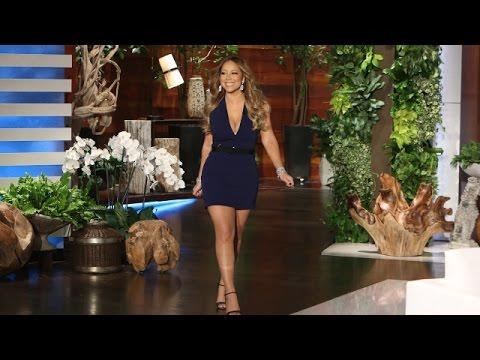 Mariah Carey Catches Up with Ellen