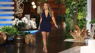 Mariah Carey Catches Up with Ellen