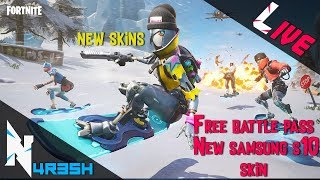 Fortnite #121 Tamil Gaming - Leaked skins are here! || USE CODE N4R35H || Free Battle pass