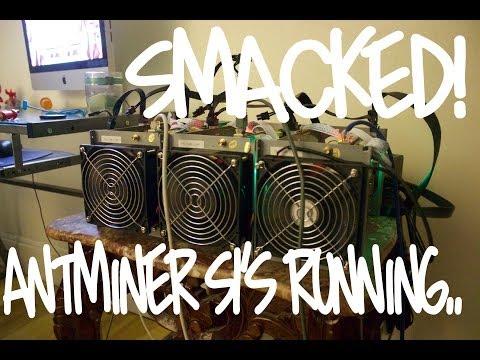 Antminer S1 (Running)