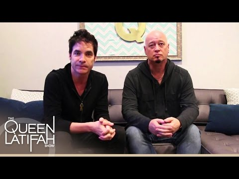 Backstage with Train! | The Queen Latifah Show