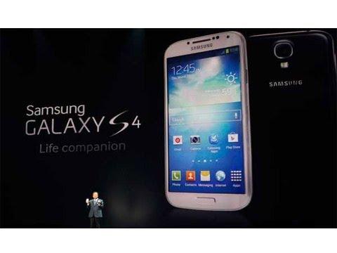 Samsung Galaxy S4 Especificaciones y Características - YouTube