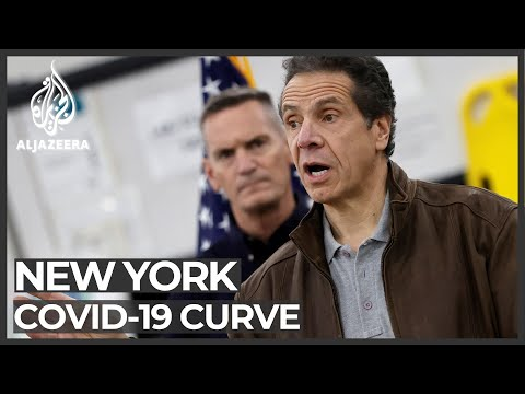 Coronavirus fight: New York state's cases may be levelling off