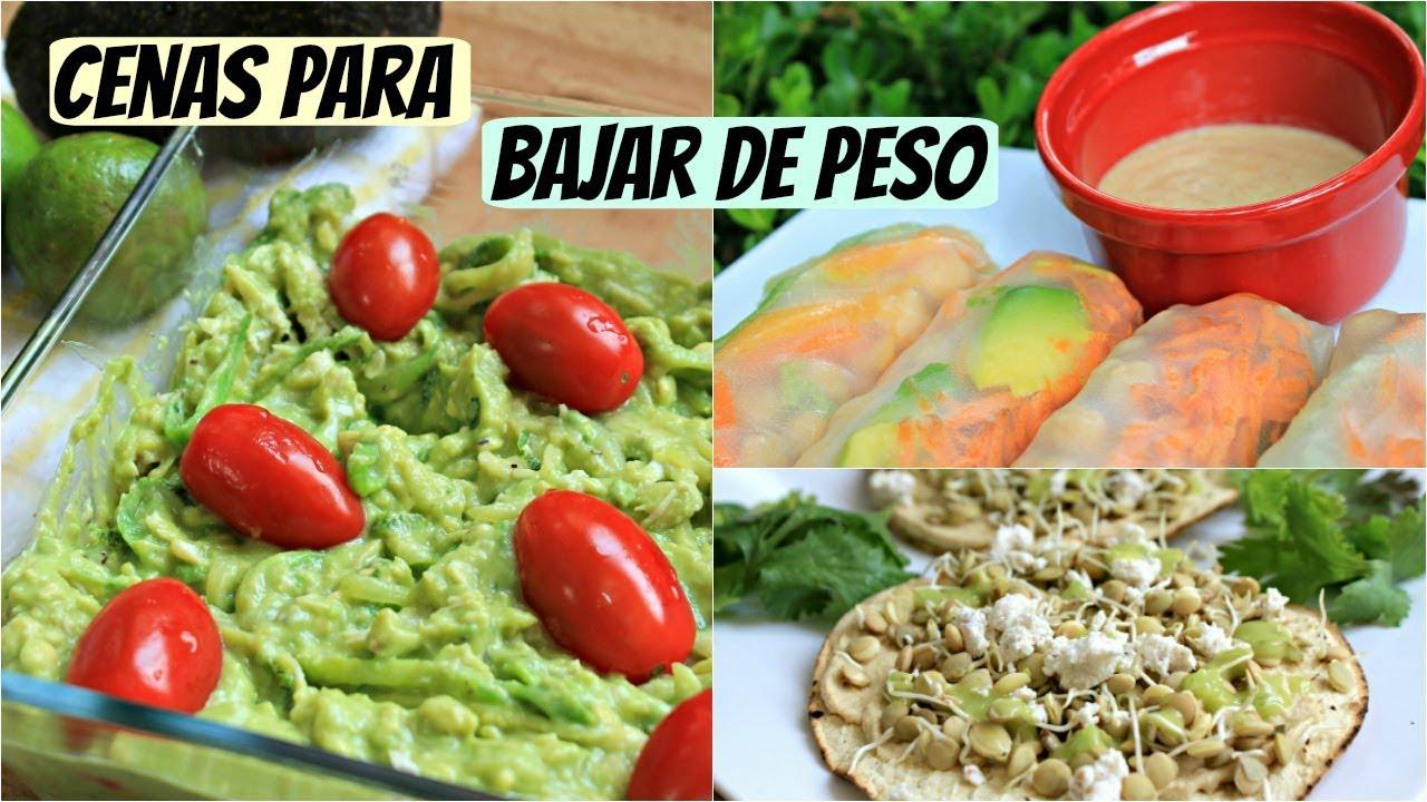 comidas rápidas y saludables para bajar de peso