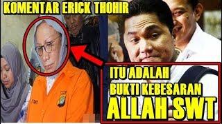 Download Video Komentar Elegan Erick Thohir Terkait Hoax Ratna Sarumpaet MP3 3GP MP4