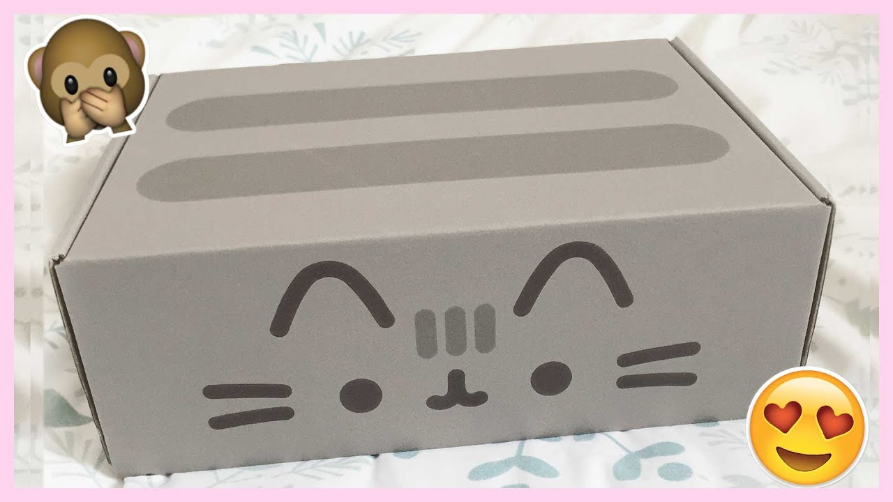 Pusheen December 2015 Box Review  U0026 Unboxing